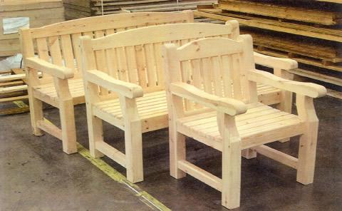 Outdoor Furniture | Carronbridge Sawmill